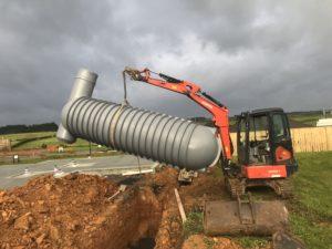 6000L stormVAULT Install