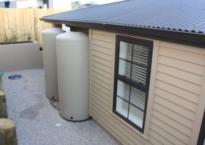 water collection tank